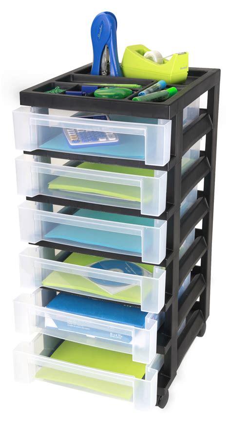 iris 6 drawer cart galleon iris 6 drawer storage cart with organizer top black