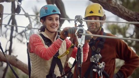 navy federal commercial actress wedding navy federal credit union app tv commercial zip line