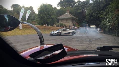 One To One Interiors by Koenigsegg One 1 Donuts Onboard And Revs