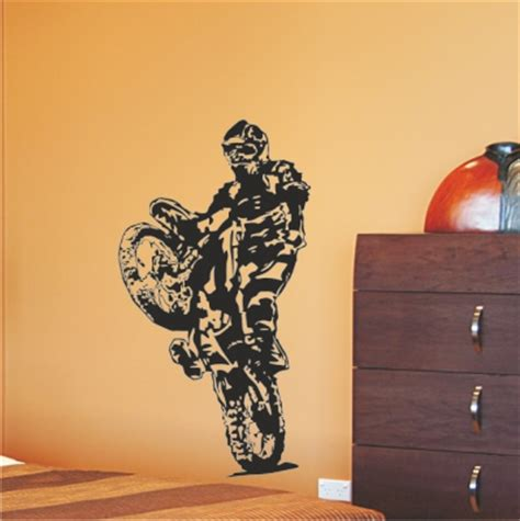 Wandtattoo Motocross Motorrad by Wandtattoo Online Shop F 252 R Preiswerte Wandtattoos