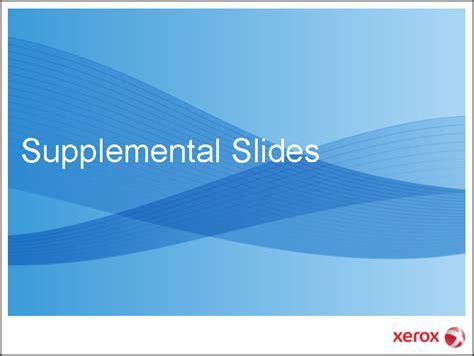 a supplemental liquidity provider is supplemental slides