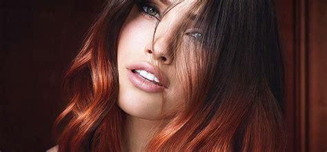 como hacer mechas color cobres en cabellos teidos de estilos de mechas en el cabello iorigen
