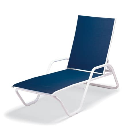 Chaise Lounge Pool Chairs pool furniture supply chaise lounge fabric sling aluminum frame telescope