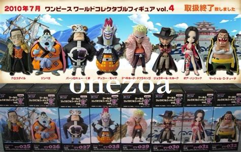 Wcf J Vol 1 8 Set banpresto one wcf tv vol 4 ouka shichibukai seven warlords onezoa