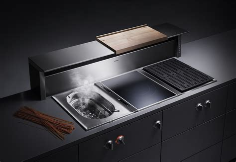 Wolf Cooktops With Downdraft At 400 By Gaggenau Stylepark