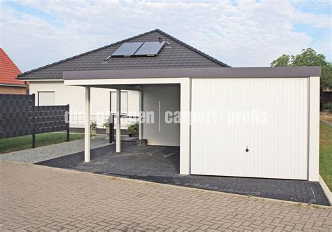 garage mit carport fertiggarage mit carport loopele
