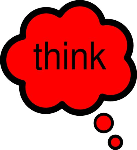think clipart think clip at clker vector clip