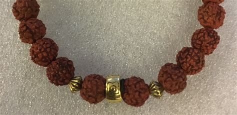 small rudraksha handmade rudraksha mala bracelet small shiva tears