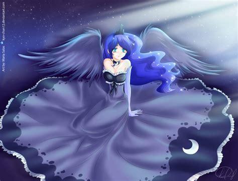 imagenes anime luna human luna by kyo chan12 on deviantart