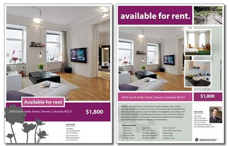 for rent flyers templates for rent flyer