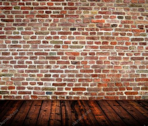 Ziegelstein Wand Innen by Empty Room Interior With Brickwall And Wooden Floor
