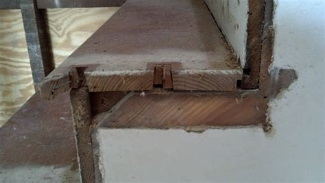 How should stair treads and risers be assembled?   Home