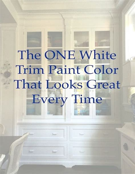 best 20 white trim paint ideas on