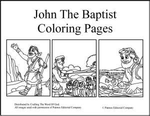 coloring book in his name for his books the baptist 171 crafting the word of god