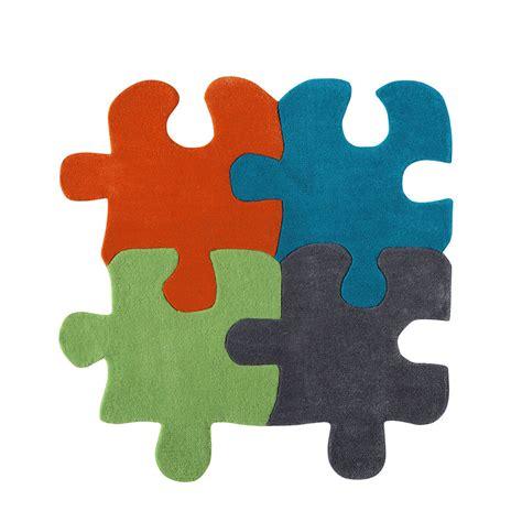 tappeto a puzzle per bambini tappeto multicolore per bambini 116 x 116 cm puzzle