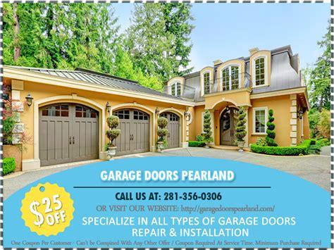 Garage Door Repair Pearland Garage Doors Pearland Tx Repair Your Opener Pearland