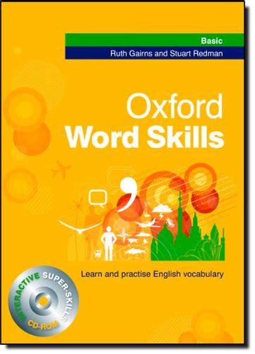 libro oxford word skills basic oxford word skills advanced per le scuole superiori con