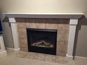 Resistant Tiles Fireplaces naughton your fireplace makeover with tin tile