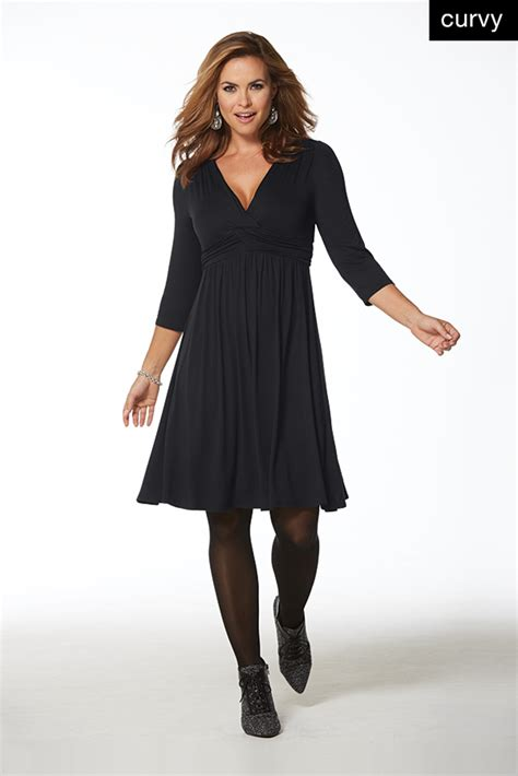 dress for the dress for the curvy type