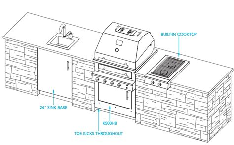 outdoor kitchen design plans outdoor kitchen designs the havana 187 design and ideas