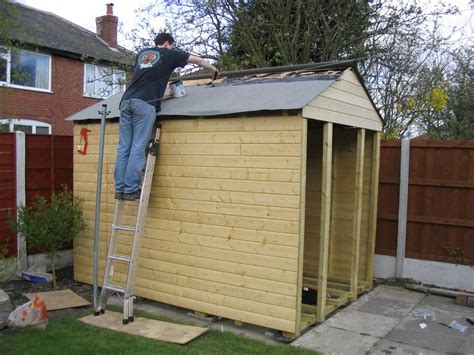 gerry woodworkers access shed roof construction