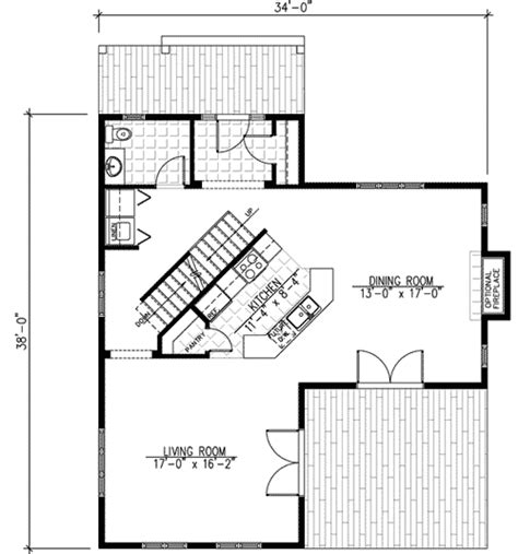 t shaped farmhouse floor plans farmhouse with metal roof 90134pd 2nd floor master suite cad available canadian cottage