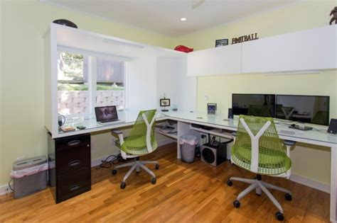 Home Office Design For Two Persons Share You Get Your Home Office Designs For Two