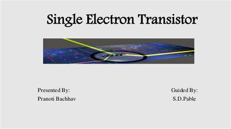 single electron transistor gate voltage single electron transistomy