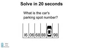 Connected Cars Could Solve Parking Woes This Puzzle Stumps Adults But Not Viral Math