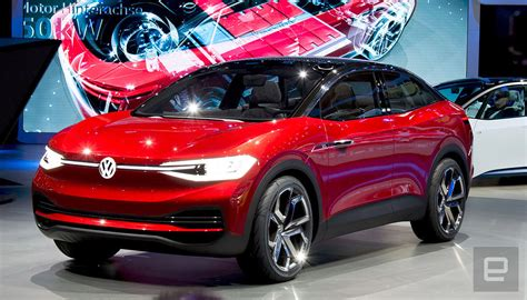Volkswagen I D Crozz 2020 by Vw S Affordable Crossover Ev Comes To The Us In 2020