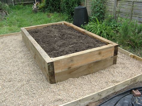 planter beds raised garden beds made from landscape timbers izvipi com