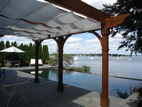 1000 Images About Guy Kathy Robert On Pinterest Deck Pergolas With Canopy
