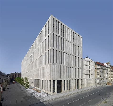 berlin centre jacob and wilhelm grimm centre max dudler archdaily