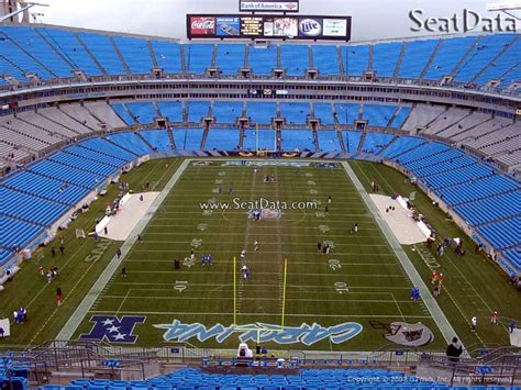 bank of america stadium seating chart belk bowl college football tickets seating guides rateyourseats
