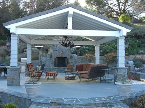 Covered Porch House Plans by Impressive Free Standing Patio Cover 6 Free Standing