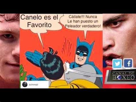 Canelo Meme - con meme ch 225 vez jr calienta duelo con canelo 193 lvarez