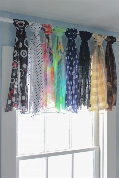 how to make a scarf curtain 25 easy no sew valance tutorials guide patterns