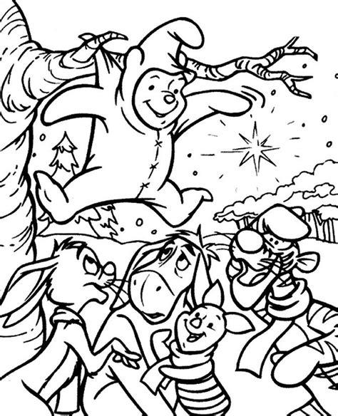 imagenes de navidad para colorear de winnie pooh winnie the pooh y sus amigos en navidad im 225 genes y fotos