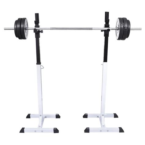 Barbell Set squat barbell rack set vidaxl