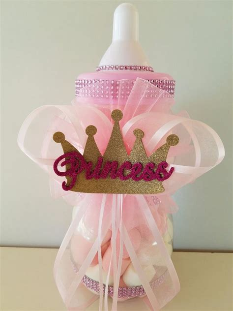 Baby Shower Crown Centerpieces by Princess Crown Centerpiece Bottle Large 12 Quot Baby Shower