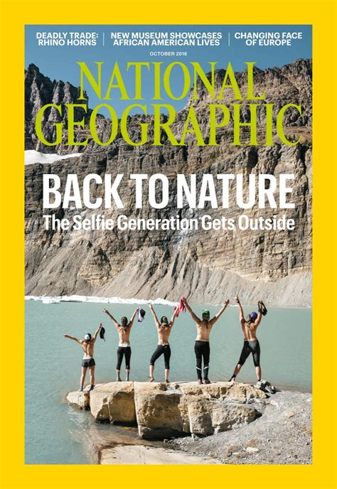 National Geographic Magazine October 2016 Usa Read Online