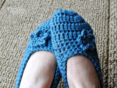 crocheted slipper patterns slippers crochet pattern
