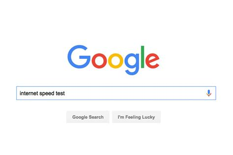 google top bar google is testing an internet speed tool built right into