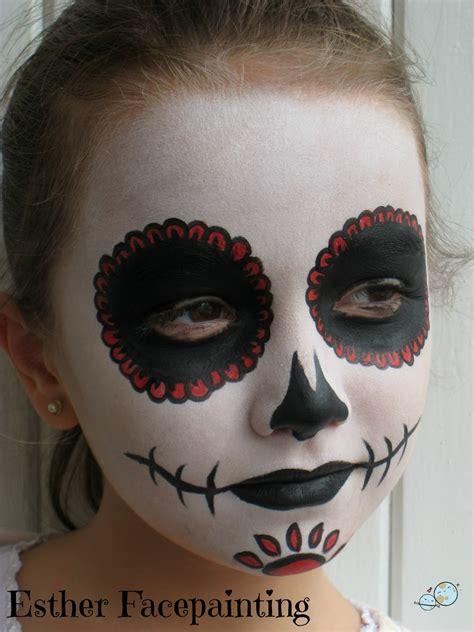 imagenes de calaveras maquillaje maquillaje de halloween para ni 209 os calavera mexicana