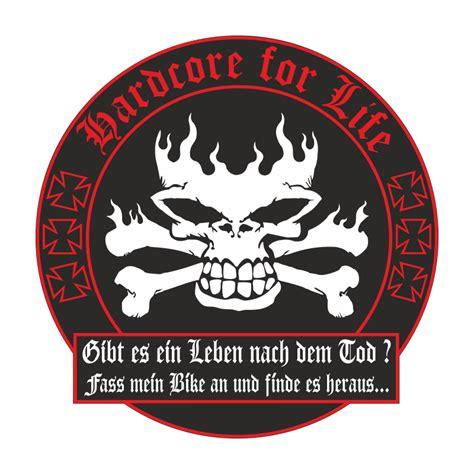 Witzige Motorrad Aufkleber by Wetterfester Aufkleber Leben Nach Dem Tod Biker Motorrad