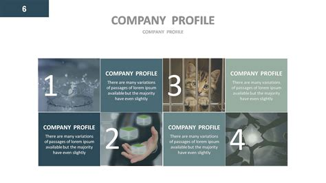 company profile powerpoint presentation template company profile powerpoint presentation template by