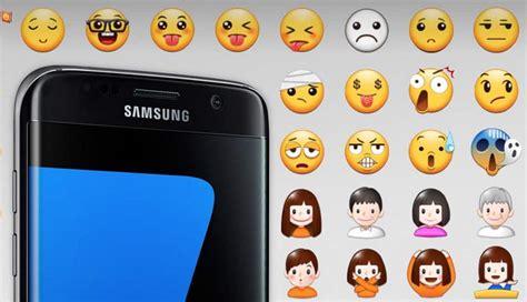 Samsung Galaxy S10 Emojis by Galaxy S7 S7 Edge Des Emojis Sans Diversit 233 Qui Font Pol 233 Mique Phonandroid