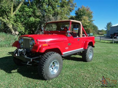 Jeep Scramblers For Sale 1982 Jeep Cj8 Scrambler
