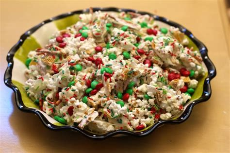 christmas snack mix recipe christmas pinterest