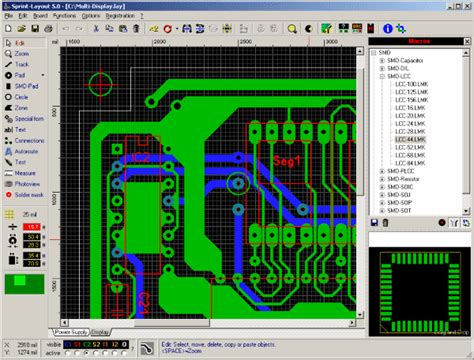 free download sprint layout 5 0 drill viewer pcb software